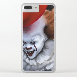 2017 IT digital painting and alternative movie poster Clear iPhone Case