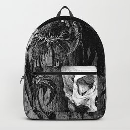 Skull Crowned Backpack