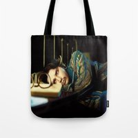 johnny depp Tote Bags featuring Johnny Depp by ururuty