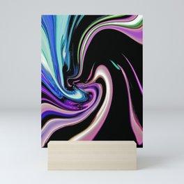 """Pastel Nightlife"" Mini Art Print"