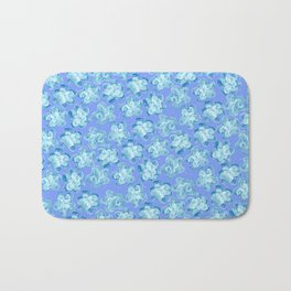 Wallflower - Colony Blue Bath Mat