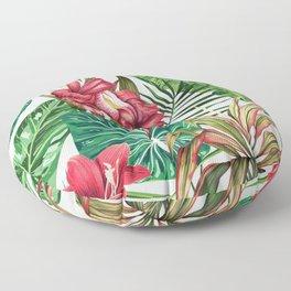 Tropica #pattern #illustration #tropical Floor Pillow