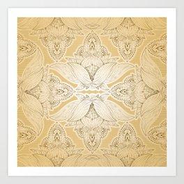Flower Mandala 8 Art Print