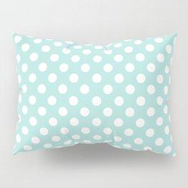 Aqua Dots Pattern Pillow Sham