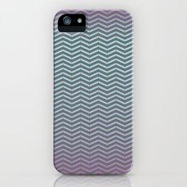 Winter Chevron Pattern iPhone Case