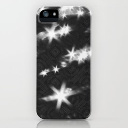 reflections pattern iPhone Case