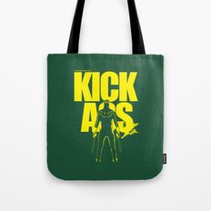 KICK ASS Tote Bag