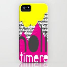 Noli Timere iPhone Case