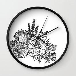 Flower arrangement 1 Wall Clock