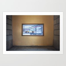 Frame.  Art Print