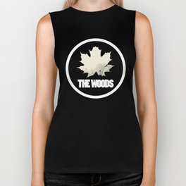 The Woods Leaf Biker Tank