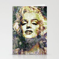 marilyn Stationery Cards featuring MARILYN by Vonis