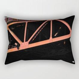 Crosshairs - Golden Gate Bridge San Francisco Rectangular Pillow