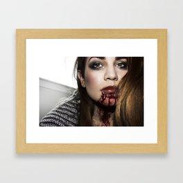 Bloody Framed Art Print