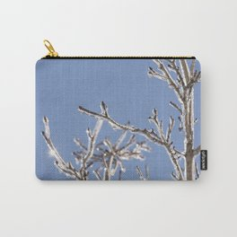 Ice in the Trees Carry-All Pouch