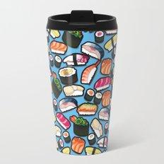 Sushi Blue Travel Mug