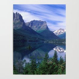 Montana Mountains Poster