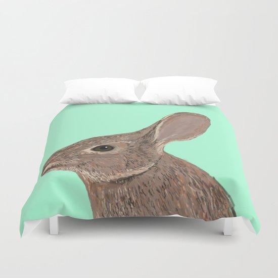 Roger - Bunny, Rabbit, Pet, Cute, Easter, Pet Rabbit, Pet Friendly, Bunny Cell Phone Case Duvet Cover