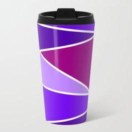 Broken Purple Hues Travel Mug