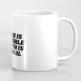 change is inevitable growth is optional Coffee Mug