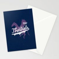 Thestrals Stationery Cards