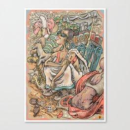 The Adam Teaser Canvas Print