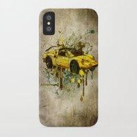 ferrari iPhone & iPod Cases featuring Ferrari by Svetlana Sewell