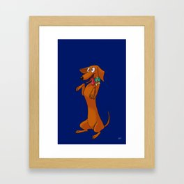 Salchichas Framed Art Print