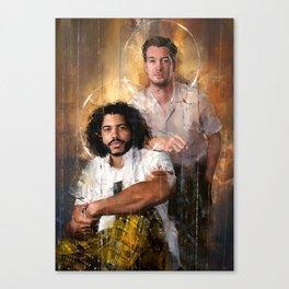 Dinamico Duo Canvas Print