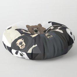 Bears of the world Floor Pillow