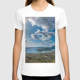 Nidri bay in Lefkas T-shirt