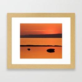 Divided by Three Framed Art Print