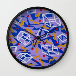90's Feels Wall Clock