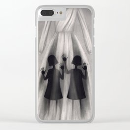 Halloween 19.10.2017 Clear iPhone Case