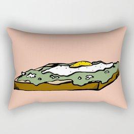yes to Avocado Toast Rectangular Pillow
