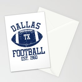 Dallas Football Fan Gift Present Idea Stationery Cards