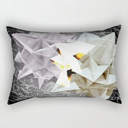 Galactic Collisions Rectangular Pillow