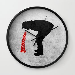 Love Sick Wall Clock
