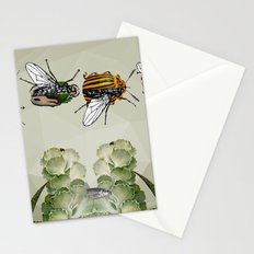 BEETLES AND FLIES Stationery Cards