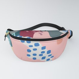 Autumn Abstraction Poster Fanny Pack