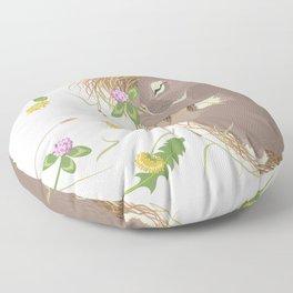 Night-night Bunny Floor Pillow