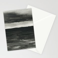 Dark sea Stationery Cards