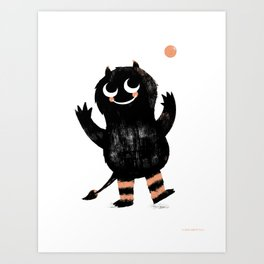 Fumble Art Print