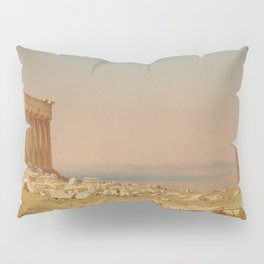 Sanford Robinson Gifford Ruins of the Parthenon 1880 Painting Pillow Sham