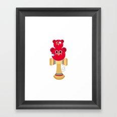 ollaKendama Framed Art Print