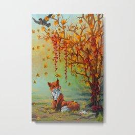 A Little Autumn Mood Metal Print