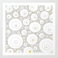 eggs Art Prints featuring Eggs by Alisa Galitsyna