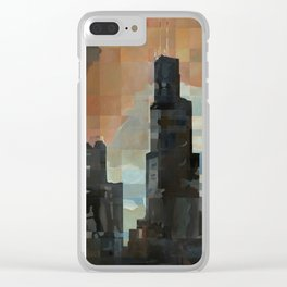 Sears at Sunrise Clear iPhone Case