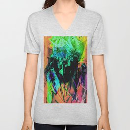 Tropical Madness Unisex V-Neck