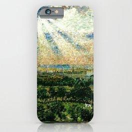View of Narragansett Bay from Newport, Aquidneck Island iPhone Case